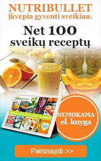 Nutribullet knyga: 100 sveikų receptų