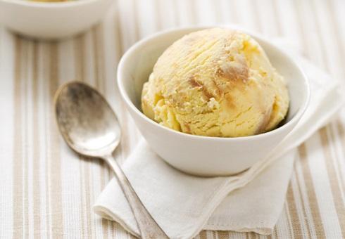 Мороженое с арахисовым маслом и медом