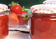 Domowej roboty dżem truskawkowy