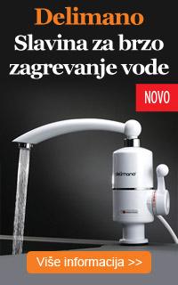 Delimano Instant Water - česma za brzo zagrevanje vode