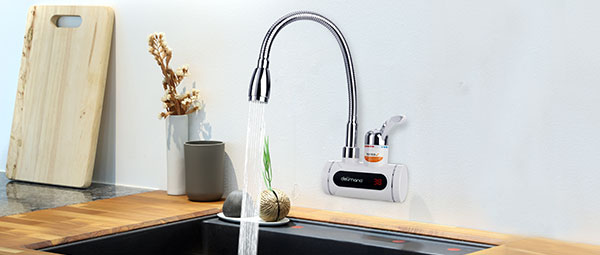 Хоризонтален нагревател за вода