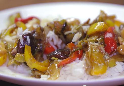 Вегетарианско блюдо по китайски