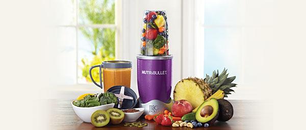 Pārtikas smalcinātājs - blenderis NutriBullet 600 W (Violets)