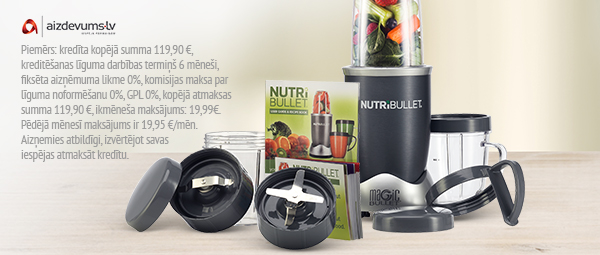 Smalcinātājblenderis NutriBullet - 0% līzings