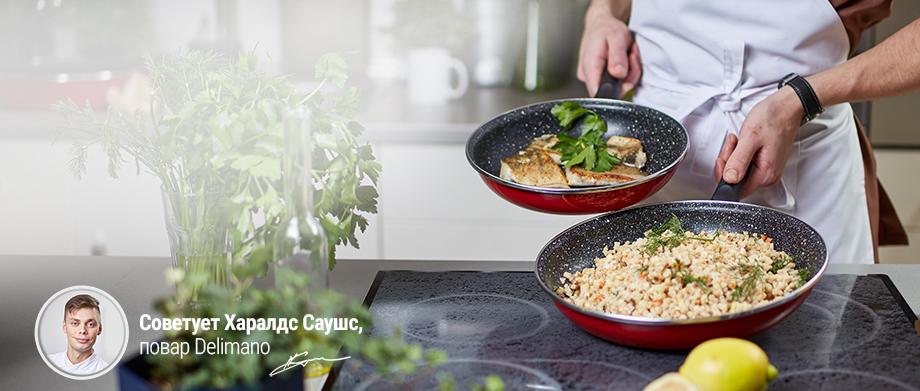 Комплект 2 сковородок Stone Legend -15€