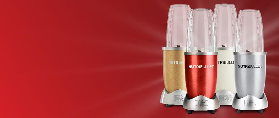 Nutribullet modeli u prazničnoj boji