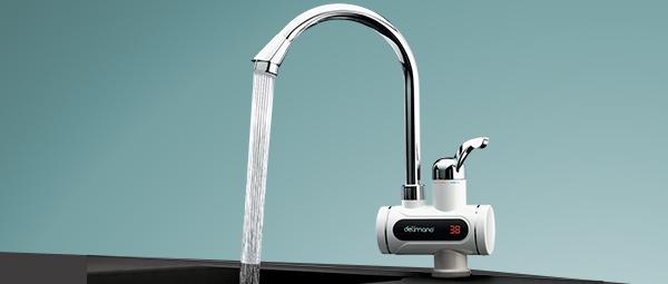 Cyfrowy przepływowy podgrzewacz wody