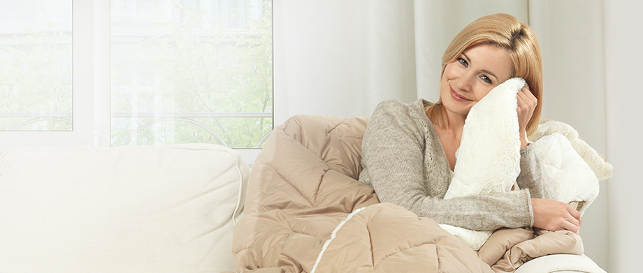 Двустороннее одеяло Warm&Cozy -63%