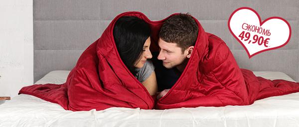 Одеяло–подушка Sweethearts