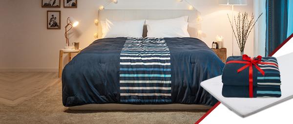 Dormeo prostirka + POKLON Perfect Sleep dupli jorgan