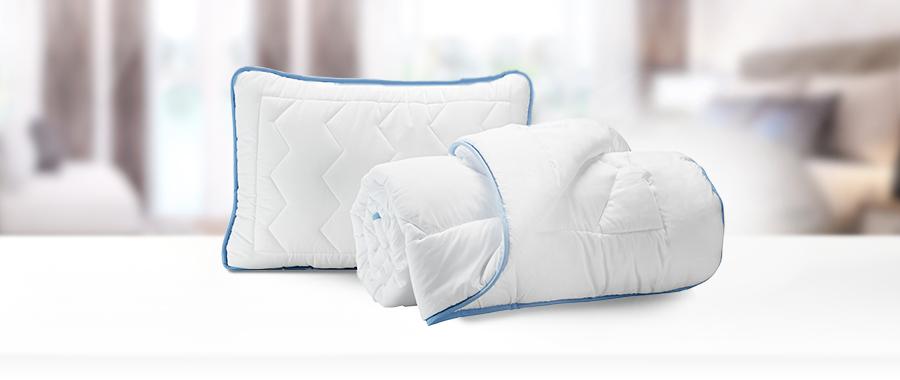 Kołdra i poduszka Siena