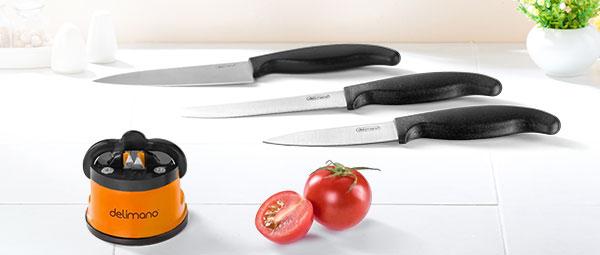 Точило Брава + 3 ножа