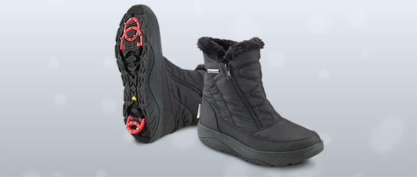 Зимние противоскользящие ботинки Walkmaxx