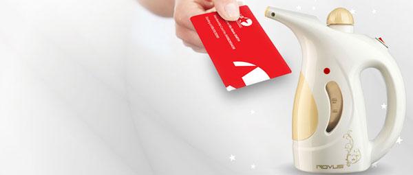 Club5* kaardi ostuga kingituseks Rovus kaasaskantav tekstiiliauruti