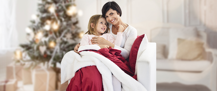 Zestaw koc i poduszka Dormeo Softest Warm Hug