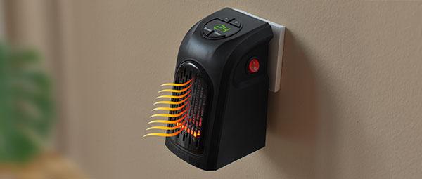 Kompaktowy ogrzewacz powietrza Rovus