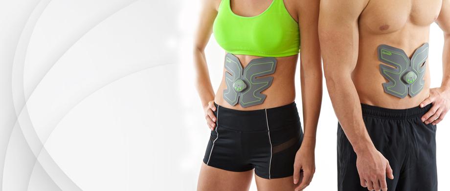 Elektrostymulator mięśni brzucha Gymbit