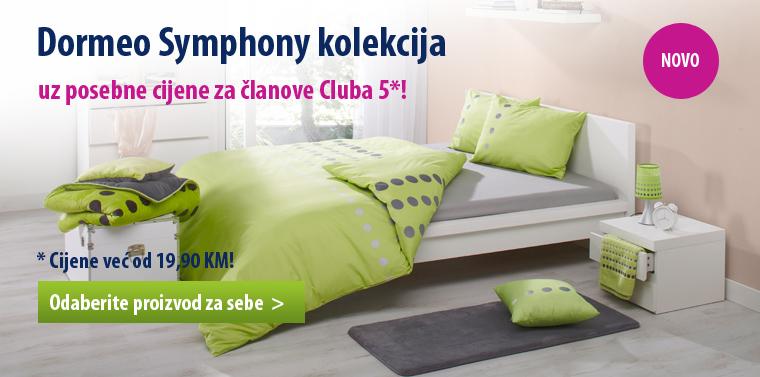 Novo: Dormeo Symphony kolekcija!