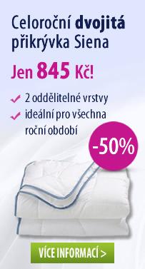 Dvojitá přikrývka Siena -50%