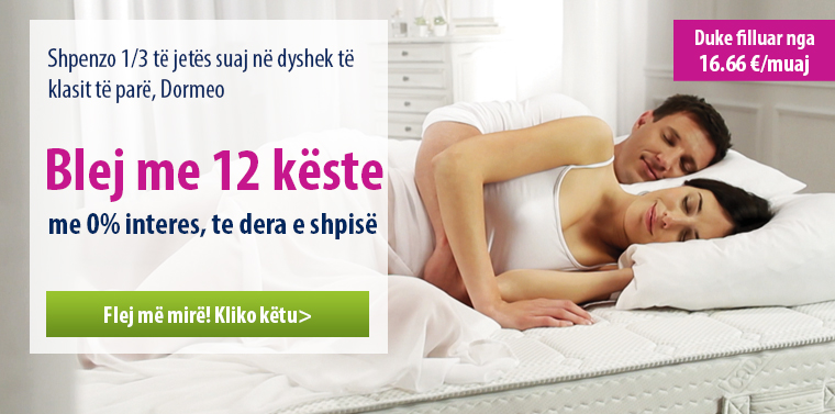 Dormeo Mattresses - 12 installments - 0% interest