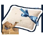 Laimekite Dormeo Camel pagalvę