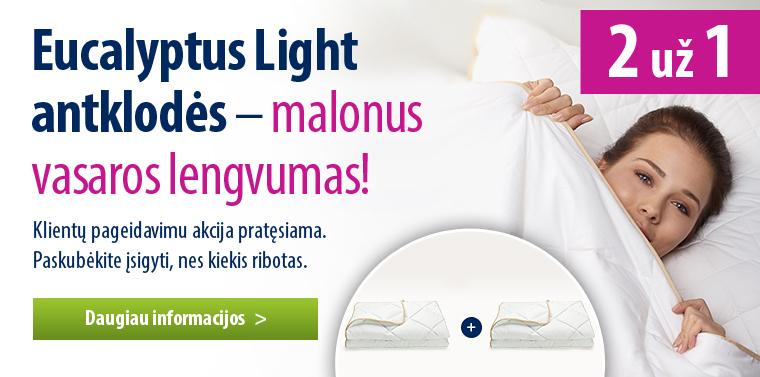 2 antklodžių komplektas Eucalyptus V2 Light