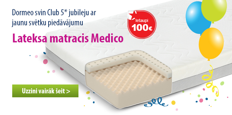 Lateksa matracis Medico