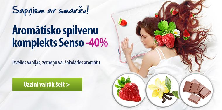 Aromātisko spilvenu komplekts Dormeo Senso -40%!