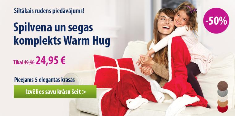 Segas un spilvena komplekts Dormeo Warm Hug -50%