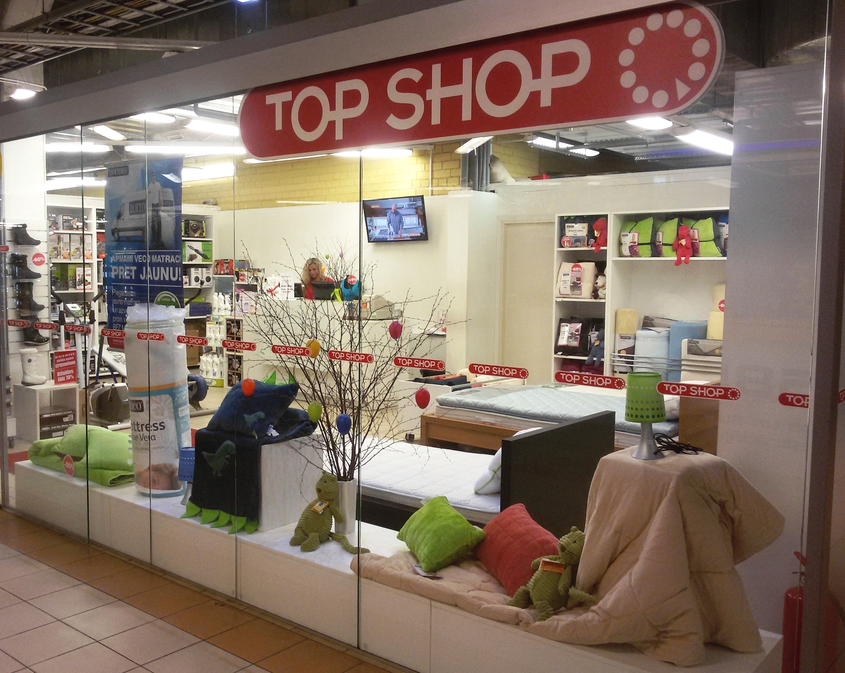 TOP SHOP (t/c Ditton Nams)