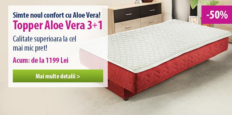 Topper Aloe Vera - 50% REDUCERE!