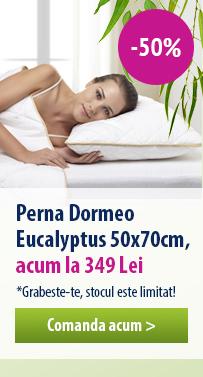 Perna clasica Dormeo Eucalyptus - 50% REDUCERE!