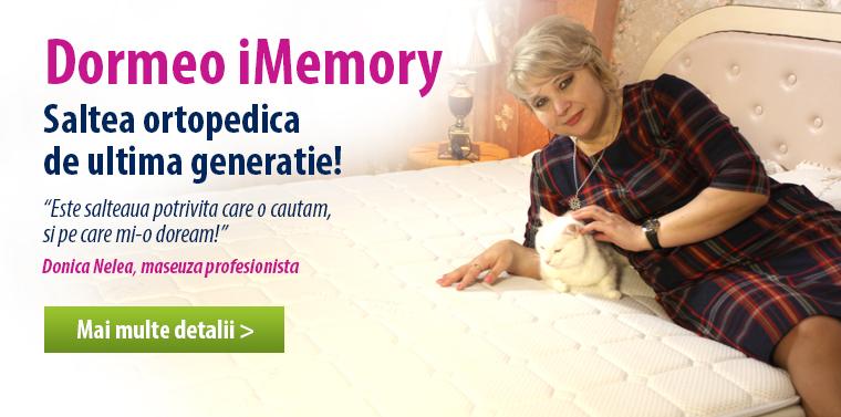 Satea ortopedica Dormeo iMemory