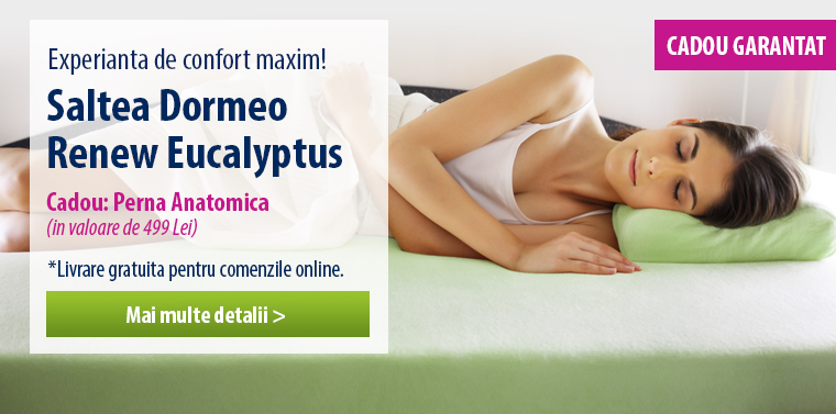 Saltea Dormeo Eucalyptus