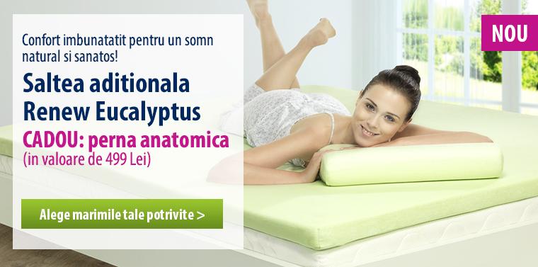 Dormeo Renew – confort sporit si somn natural!