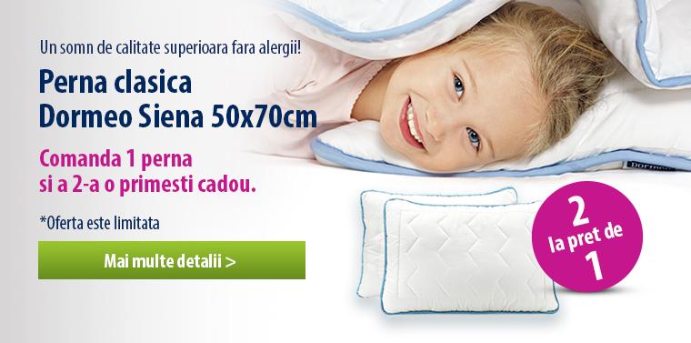 Perna Dormeo Siena - 1+1 CADOU!