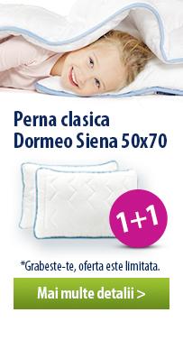 Perna Dormeo Siena - 2 la pret de 1!