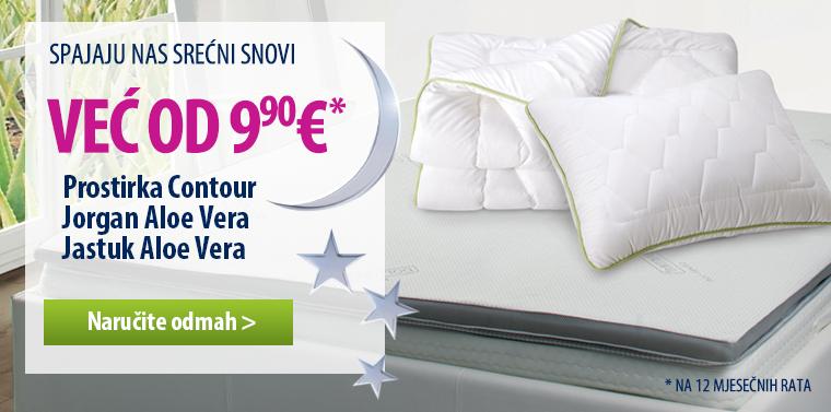 Dormeo Contour + AV pillow & duvet
