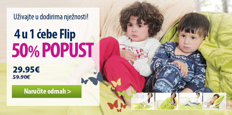 Dormeo Flip ćebe jastuk 140x200 -50%