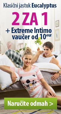 2x Eucaliptus jastuk + Extreme Intimo vaučer