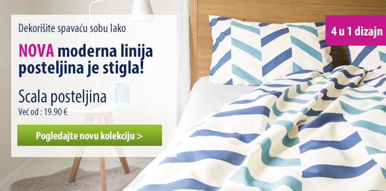 Dormeo Scala posteljina plava