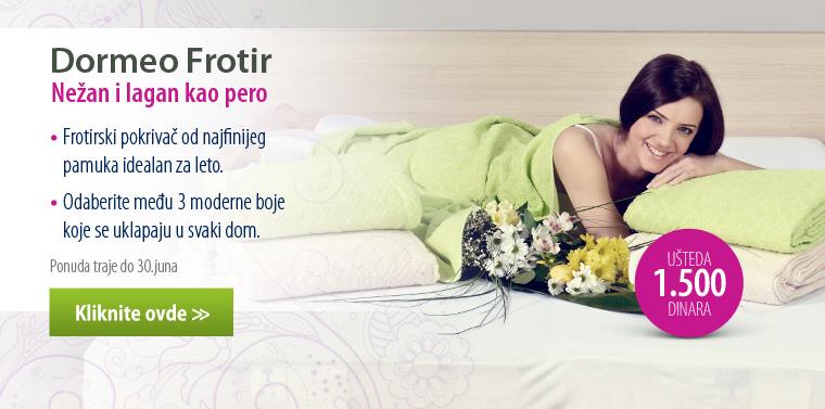 Dormeo Frotir - pamučni pokrivač