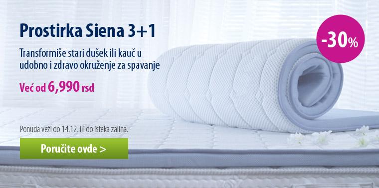 Prostirka Dormeo Siena 3+1