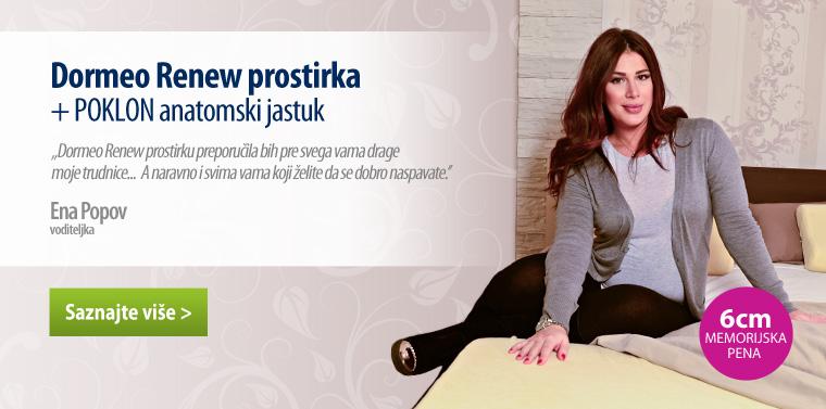 Prostirka Renew + anatomski jastuk