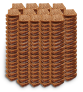 100 филии пълнозърнест хляб