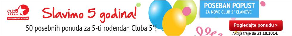 Slavimo 5 godina