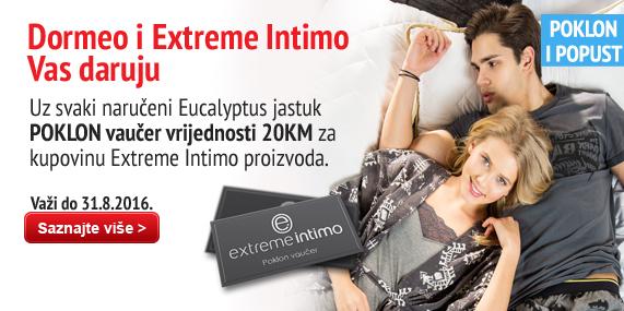 Eucalyptus pillow & Extreme intimo