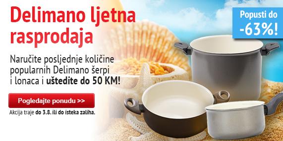 Delimano summer pot and skillet sale