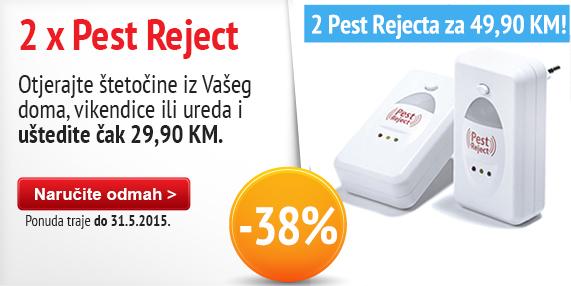 Pest Reject 2015 x 2 Maj