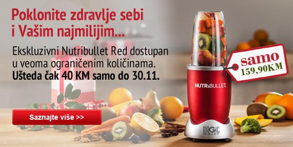 Nutribullet red